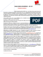 1. CHEMAREA LA ACTIUNE_Regionalizarea Romaniei