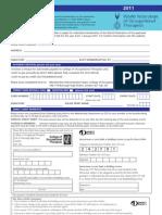 WFOT Application Form