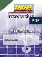 Matematica(MAT-80hs) Unidade I