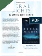 Feral Nights by Cynthia Leitich Smith - Author Q&A