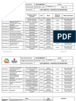 LM-NTGQ 4.2.4 Lista Mestra Controle de Registros REV001