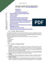 Abastecimiento Administracion Publica Peru