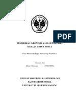 makalah antropologi pendidikan