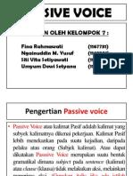 Passive Voice Ppt.