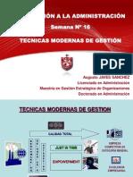 Administracion 16 Tecnicas Modernas Para Administrar Imprimir Urgente