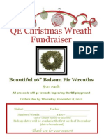 Wreath Fundraiser 2012
