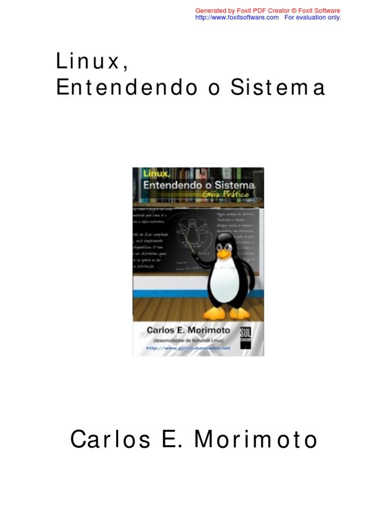 Linux Entendendo O Sistema Pdf