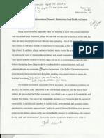 Proposal Argument Peer Review