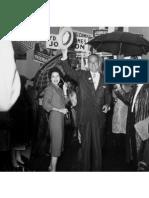 Lady Bird and Lyndon B. Johnson in Minnesota