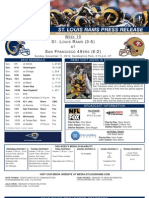 Week10 - Rams at 49ers
