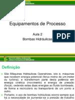 Equipamentos de Processo (Aula 1)