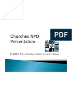 churches npo registration