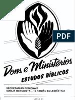 Dons e Ministerios Estudos Biblicos