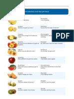 Fruits - Busuu Beginner French A1