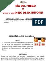 Curso Teoría del Fuego-uso y manejo de extintores 2012
