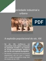 A Sociedade Industrial e Urbana