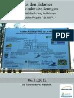Mitschrift aus den Eslarner Gemeinderatssitzungen, 11.2012