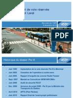 Pie-IX Blvd. SRB Bus Rapid Transit in Montreal