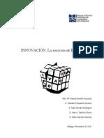 Innovacion. La Solucion de Europa. v.4