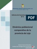 Informe de coyuntura económica N° 9 año 2012