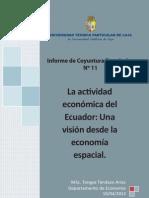 Informe de coyuntura económica N° 11 año 2012