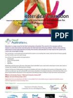 towards better deaf education