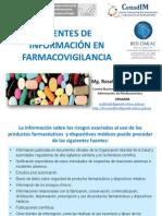 FUENTES DE INFORMACION DE FARMACOVIGILANCIA