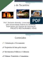 Aulas de Historia Do Tocantins