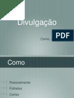 Palestra - Divulgação