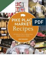 Pike Place Market Holiday Menu