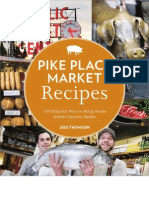 Pike Place Market Holiday Menu