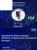 Changing the Rules to Reward Efficiency