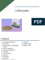 Lithography Ia