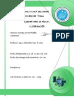 informe electrización