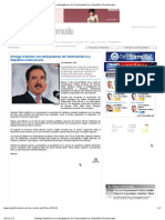 5-11-12 Dialoga Gamboa con embajadores de Centroamérica y República Dominicana