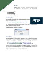 Uso de JOptionPane en Java