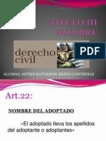 Exposicion - Nombre Del Adoptado
