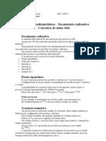 Biofsica Dos Radionucldeos Decaimento Meiavida