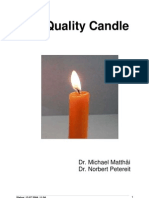 The Quality of Candle