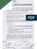 Carta de los profesionales del Hospital Universitario de La Princesa a usuarios, pacientes y vecinos (2/11/2012)