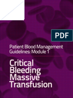 1critical Bleeding Guidelines