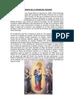 Biografia de La Virgen Del Rosario