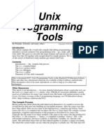 Unix Programming Tools