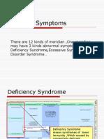 Meridian Symptoms