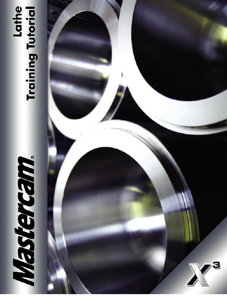 mastercam x3 lathe pdf machine tool machining rh scribd com  Mastercam CNC Programming