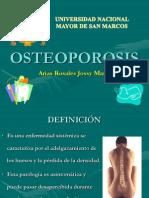 Seminario de Hospital Osteoporosis