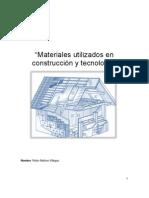 Materiales utilizados en construcción y tecnología
