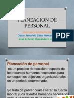 Planeacion de Personal