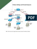 Configuring ASA 5510 Basic Settings and Firewall Using CLI