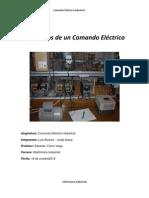 Informe Comando Electrico Industrial